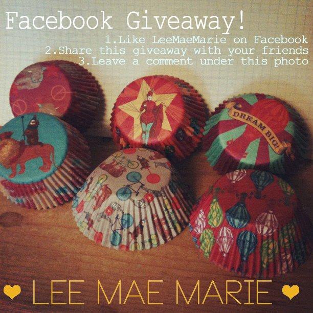 LeeMaeMarie Cupcake Wrapper Giveaway!